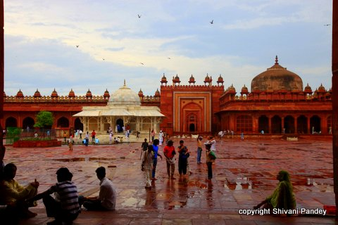 Jama Masjid, Fatehpur Sikri, Agra, India