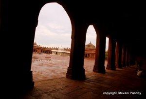 Pillars of Fatehpur Sikri, Agra