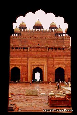 Jharokha, Fatehpur Sikri, Agra, India
