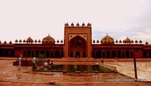 Inside Fatehpur Sikri, Agra , India
