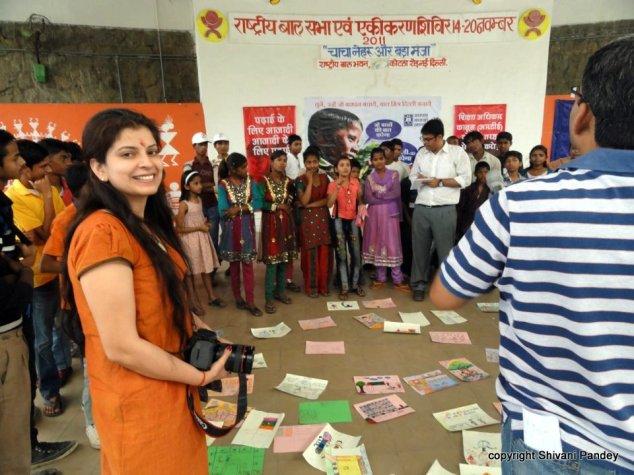 At Bachpan Bachao Andolan's 'Child Friendly Delhi Campaign'