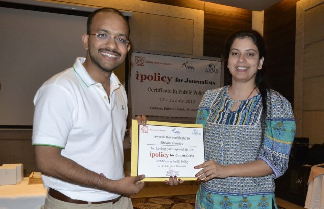 CCS workshop on Policy making