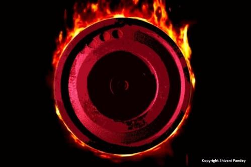 Barrel of fire